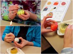 Ukrainian egg making 2013