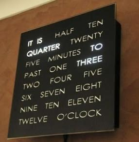 A 20th century Clock, very interesting....