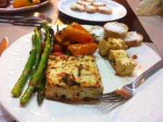 Grilled Tofu and Veggies