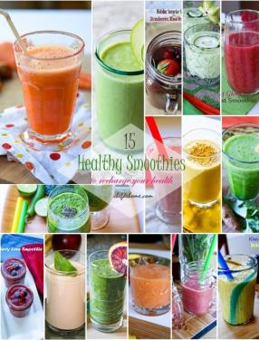 15 Healthy Smoothies to Get Your Diet Back on Track Meals - ChefDeHome.com