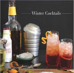 Winter Cocktails Cookbook Giveaway