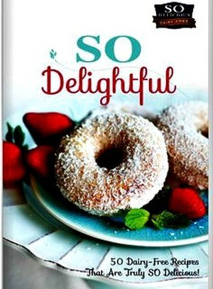 This free book has 50 awesome dairy free recipes that you can sip bite pour scoop lick and chug throughout your day