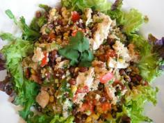South West Black Bean and Chicken Salad - sounds tempting