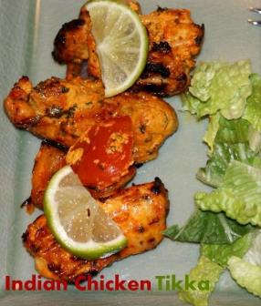 Grilled Indian Chicken Tikka
