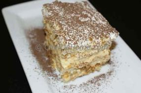 ChefDeHome invites you try this step by step recipe for simple yet elegant Tiramisu complete with each step photograph. Tiramisu is classic Italian dessert made with ladyfingers and mascarpone cheese.