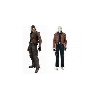 Resident Evil 4 Gmae Leon Scott Kennedy Cosplay Costume--CosplayDeal.com