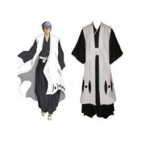 Bleach Captain Ichimaru Gin 3rd Division Cosplay Costume