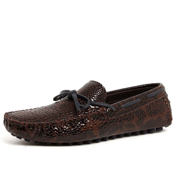 CWMALLS Leather Embossed Driving Loafers CW707011