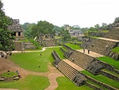 Palenque, These ancient Maya ruins are located in northeast Chiapas, about two hours by bus from the nearest airport at Villahermosa. Campeche is five hours away, and it takes six to get to Palenque.