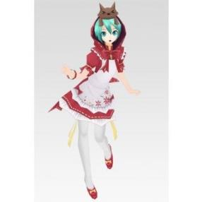 Vocaloid Project Diva2 Miku Little Red Riding Hood Cosplay Costume--CosplayDeal.com