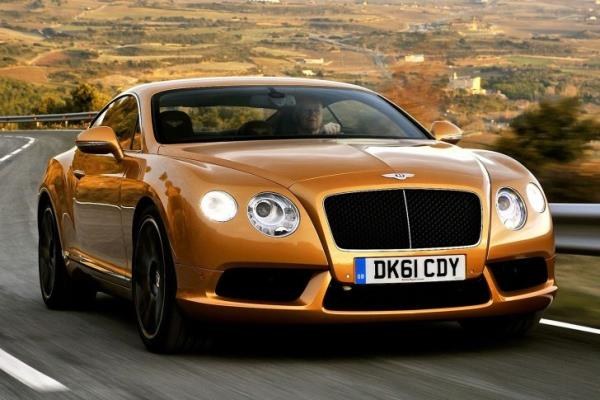 Bentley Continental GT V8, 2013