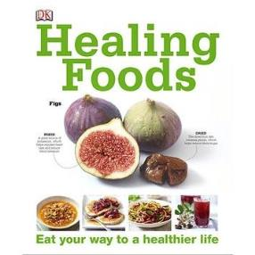 This colorful healing foods book has awesome nutrition information for relieving the systems of numerous sicknesses and ailments.