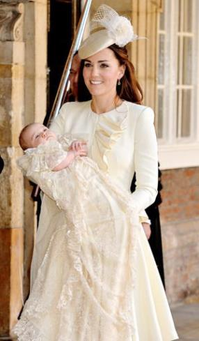 Kate Middleton's Alexander McQueen Outfit for Prince George's Christening