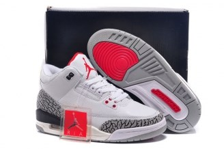 Jordan 3 (III) Retro C White Cement (2011)