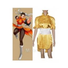 Street Fighter Chun Li Fighting Game Cosplay Costume--CosplayDeal.com