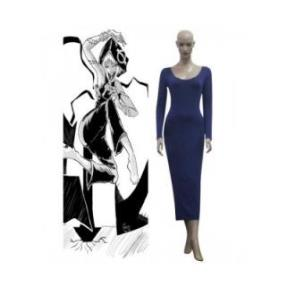 Soul Eater Medusa Blue Dress Cosplay Costume