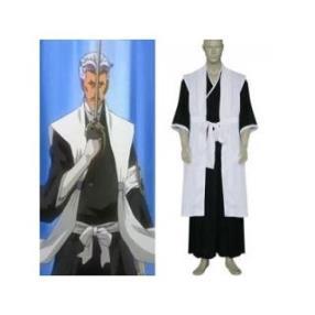 Bleach 1st Division Lieutenant Sasakibe Chojiro Cosplay Costume