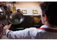 Smart Stovetop - Ecosystems of devices and sensors will work on your behalf, helping you without getting in your way