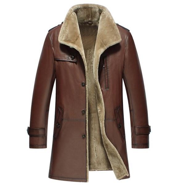 CWMALLS Denver Winter Shearling Coat CW858108