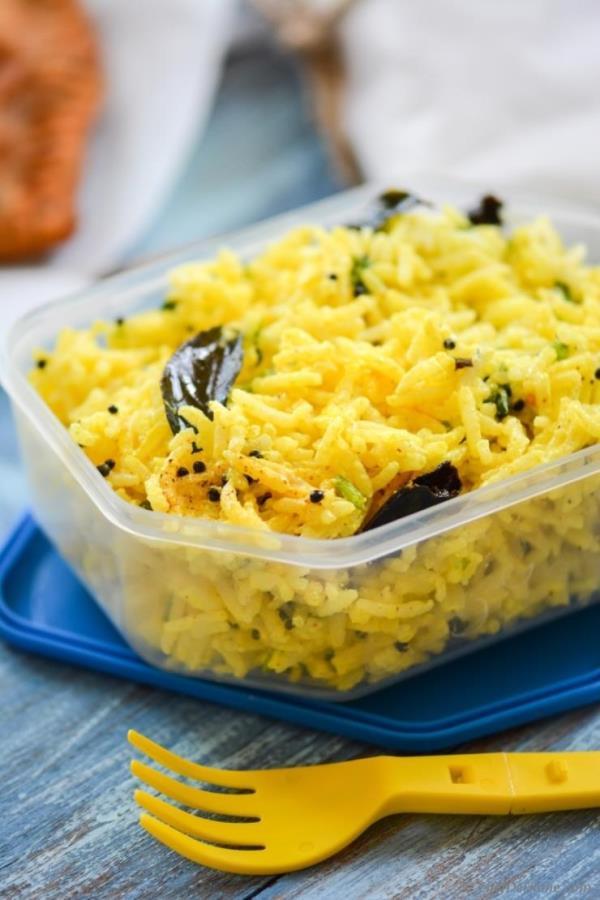 Picnic Yogurt(Curd) Rice Recipe - ChefDeHome.com