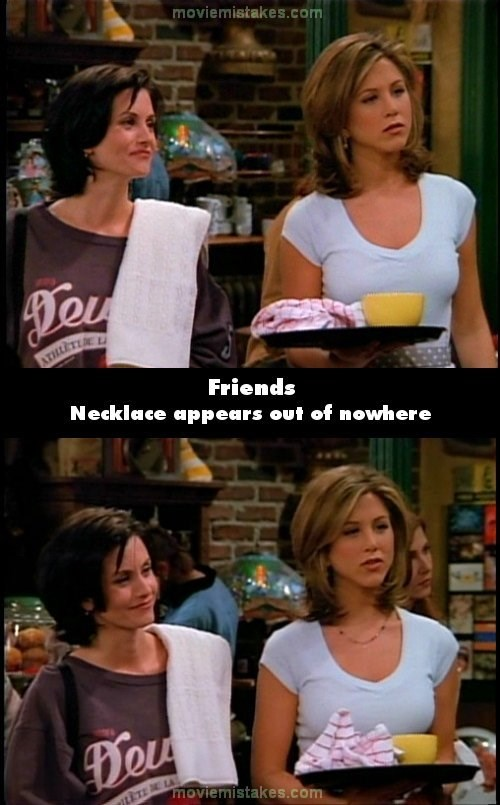 You should notice this when you watch - Friends next time