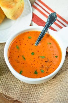 Creamy Tomato Soup Recipe -ChefDeHome.com