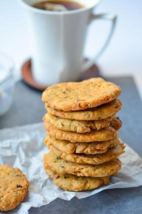 Indian Namkeen Methi Mathri - Salted Fenugreek Crackers Recipe -ChefDeHome.com