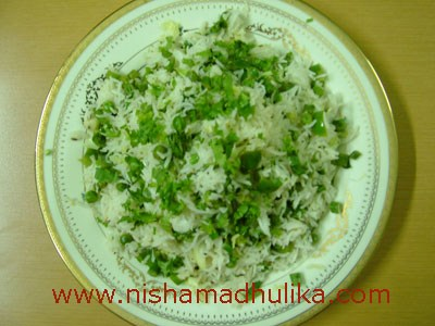 Simply Matar and Veggies Pulao (Pea Pilaf), a staple in my family