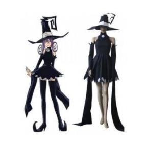 Soul Eater Blair Black Dress Cosplay Costume