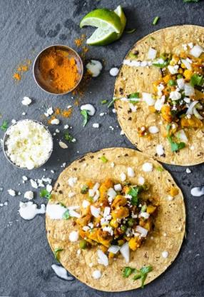 Curry Masala Cauliflower Tacos Recipe -ChefDeHome.com