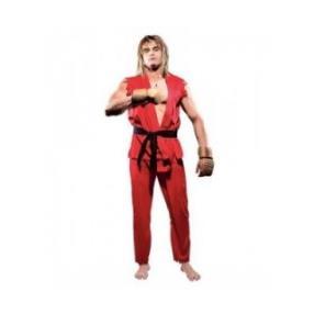 Street Fighter Ken Fighting Game Cosplay Costume--CosplayDeal.com