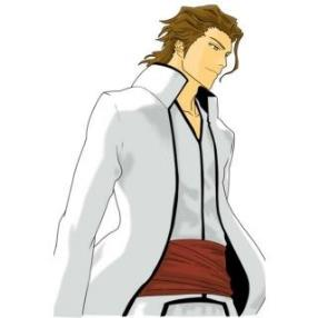 Bleach Aizen Sousuke Short Cosplay Wig