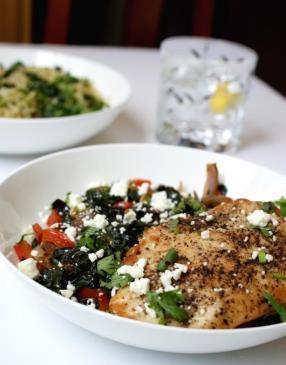 Warm Kale and Chicken Salad Recipe - ChefDeHome.com