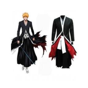 Bleach Ichigo Kurosaki Bankai Form Mens Cosplay Costume