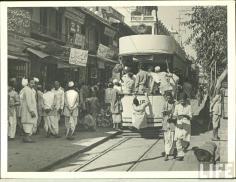 Tram in Old Delhi