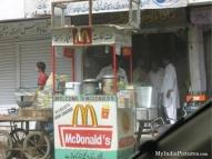 Mc Donalds started mobile shops in India