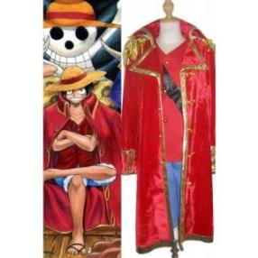 One Piece Monkey D. Luffy Cosplay Costume