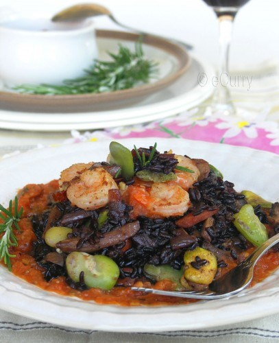 umm Black Rice Risotto, looks so delish