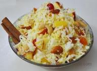 Fruit Rice Pilaf from Indian Vegetarian Recipe