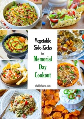 12 Vegetable Side-Kicks Recipes for Memorial Day Cookout Meals - ChefDeHome.com