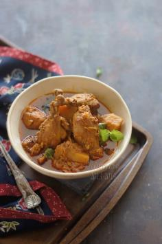 Fennel Flavored Chicken Curry