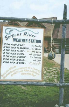 redneck weather station