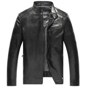 CWMALLS Houston Leather Biker Jacket CW806053