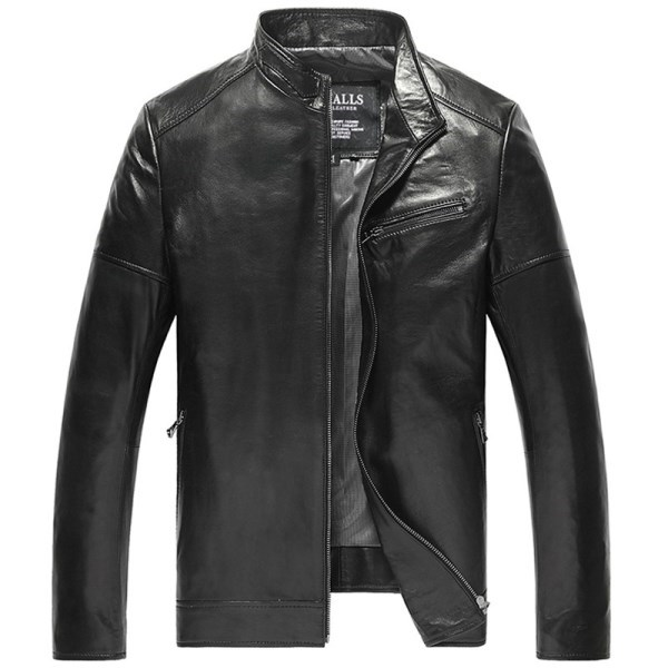CWMALLS Houston Leather Biker Jacket CW806053