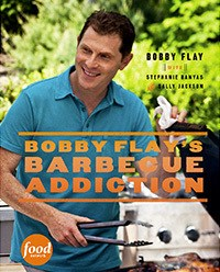 Just hit book stands Bobby Flay's new Cookbook Bobby Flay's Barbecue Addiction