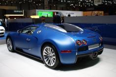 Bugatti Veyron Bleu Centenaire, Luxury Supercars 2013