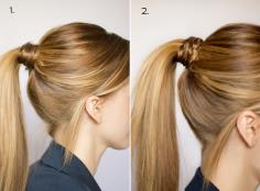 Dress up your ponytail.