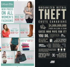 Retail theft is an issue thats not on Canadian minds. To the general population, it's just harmless shoplifting.