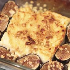 Honey baked feta
