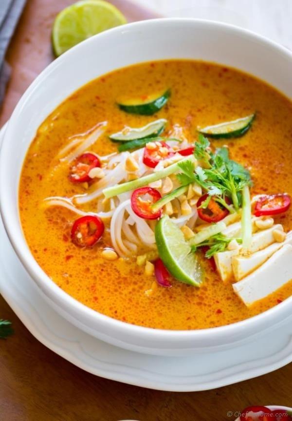 Laksa Soup  Recipe - ChefDeHome.com